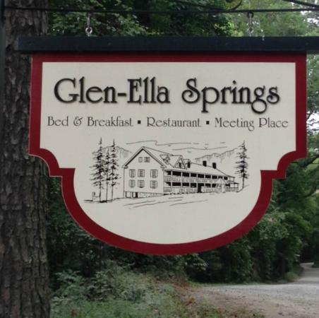 Glen-Ella Springs Restaurant