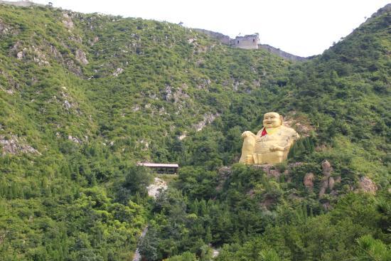 Baiyangyu Great Wall : Budda
