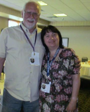 Ely, MN: Myself and Dr Lynne Rogers