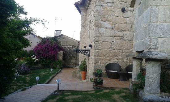Casa Noelmar: patio de la casa