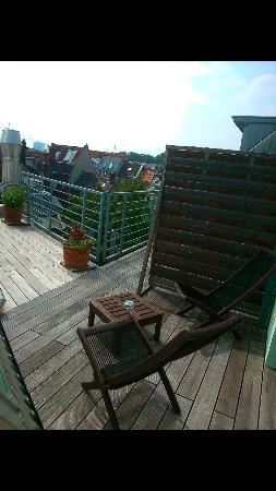 Hotel Chelsea : Private terrace only in duplex rooms.