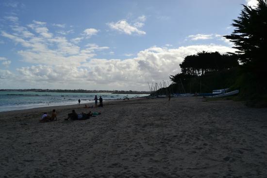 Saint-Jacut-de-la-Mer, Франция: le bord de plage