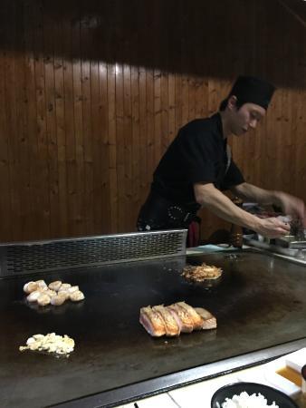 Midori Teppanyaki and Bar: amazing food