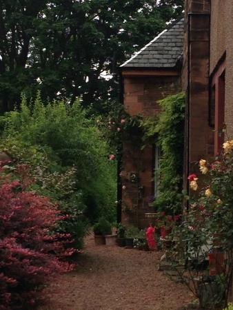 Botanics Bed & Breakfast : Floral entrance