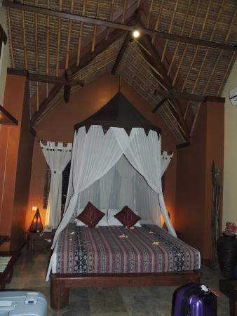 Puri Madawi: chambre de la suite