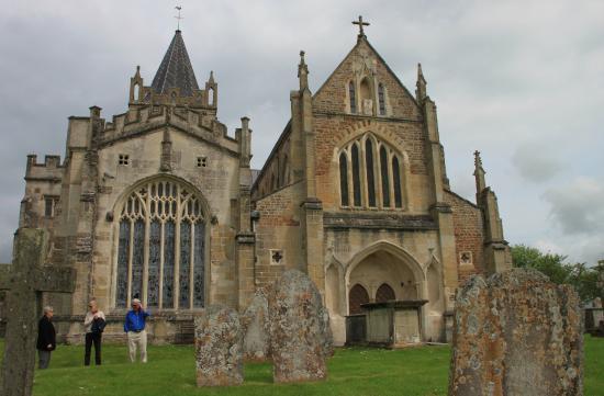 Ottery St Mary Parish Church: From the Parish Burial Ground