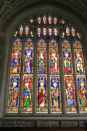 Ottery St Mary Parish Church: One of the Beautiful Windows