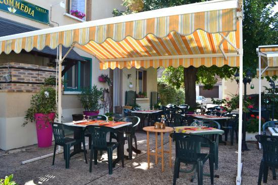 Selles-sur-Cher, Francia: TERRASSE