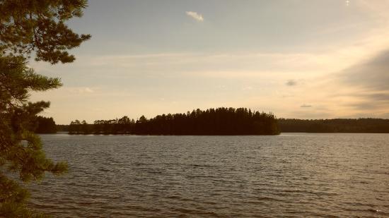 Vaggeryd, Suécia: The nearby lake
