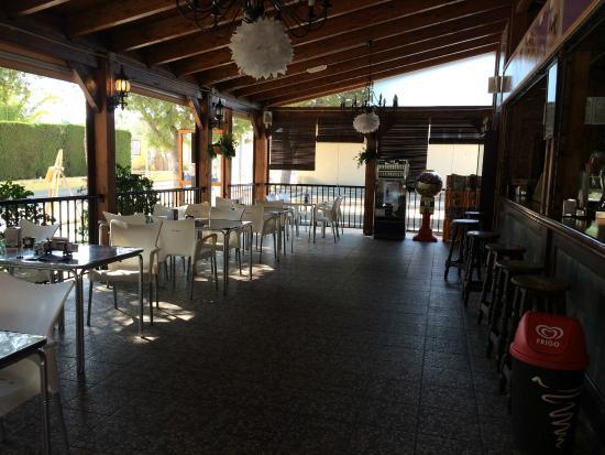 Foto de bar terraza el chiringuito algorfa bar terraza for Terraza bar