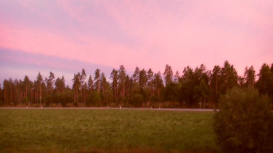 Vaggeryd, Suécia: Sunset