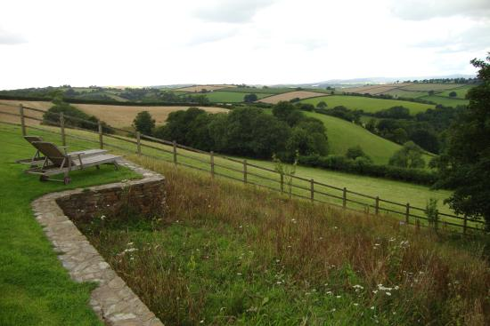 Kerswell Farmhouse : View from the terrace