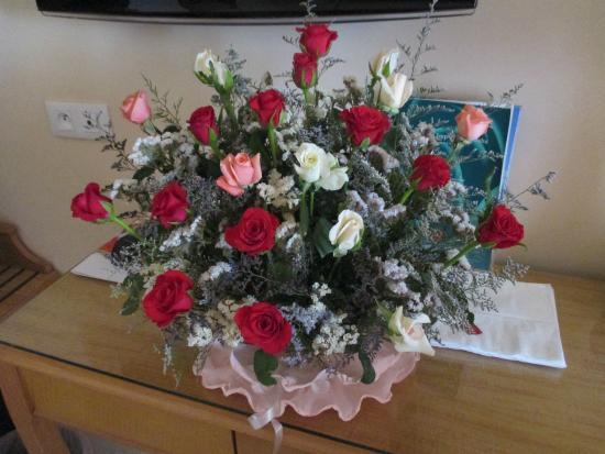Le Bouquet De Fleurs Pour Mon Anniversaire Que Je Trouve