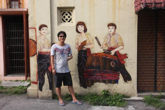 Art of OLDTOWN: Ipoh Murals : Jalan Mesjid