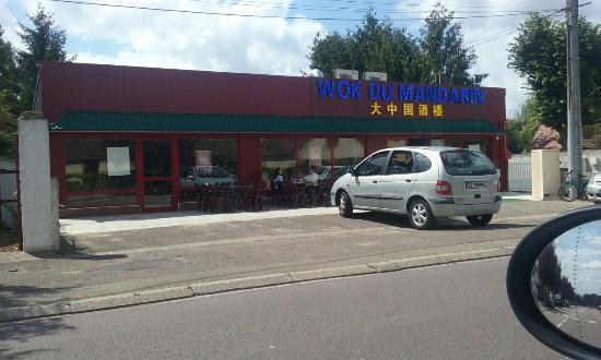 Joigny, Франция: Le Wok du Mandarin