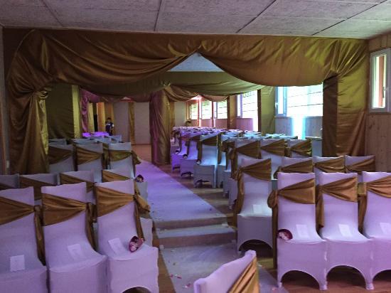 Le Fontenay : Salle de réception