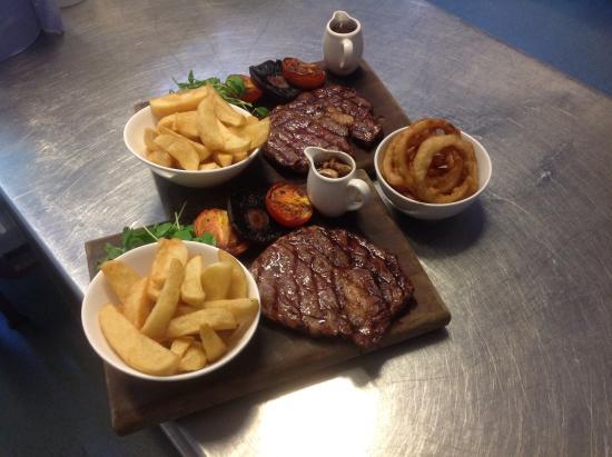 Freckenham, UK: Steaks