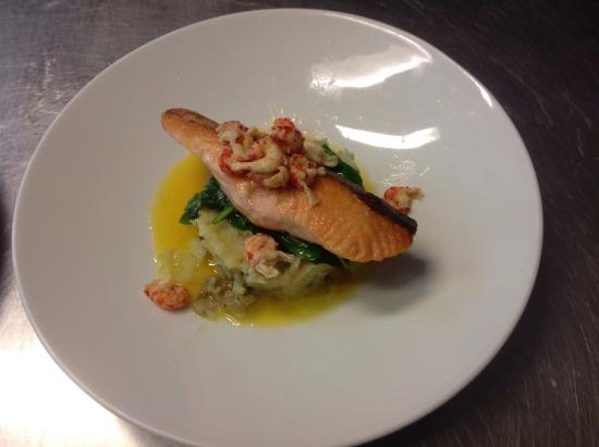 Freckenham, UK: Salmon