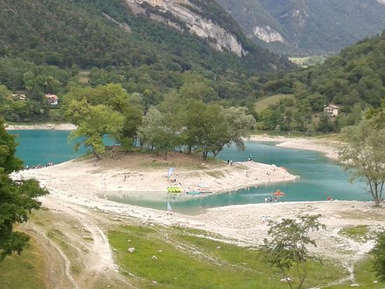 Tenno, Italien: dal chiosco punto di ristoro