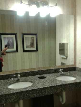 Drury Inn & Suites Findlay: Public Restroom