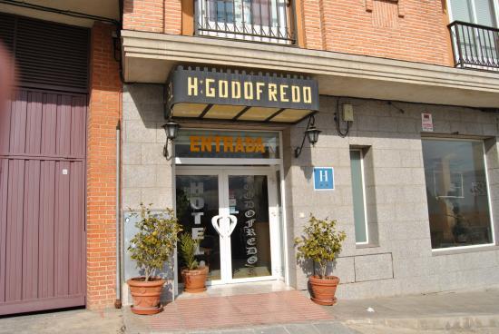 Hotel Godofredo : Entrada