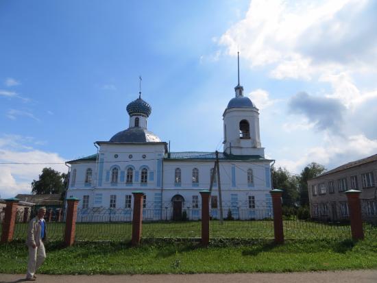 Sizma, Russia: Церковь Николая Чудотворца