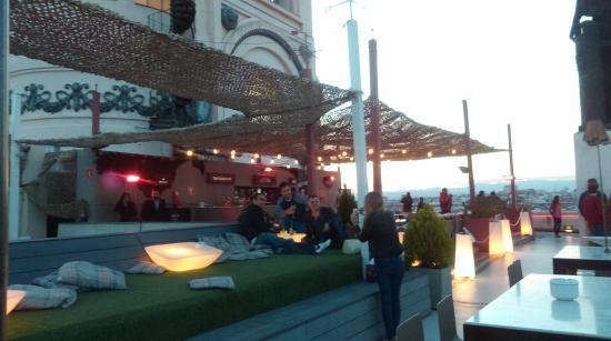 The Bar Picture Of Azotea Del Circulo Madrid Tripadvisor