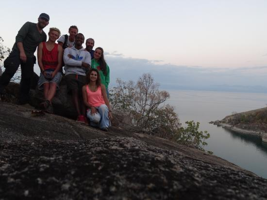 Malawi: Hiking at our lush mountain