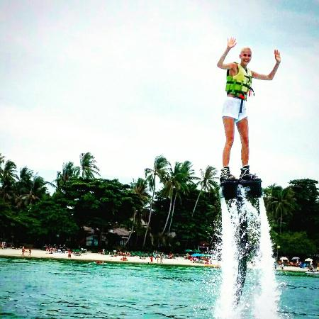 Flyboard Koh Samui Chaweng Beach - Picture of Flyboard Koh ...