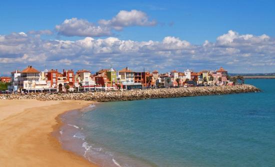 Pizzeria Blanca Paloma: Vista de Puerto Sherry