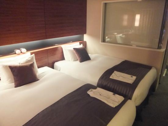 Hotel Metropolitan Yamagata: ベッド