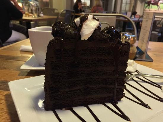 Bay Sire Winery Bistro Ale House 7 Layer Chocolate Cake