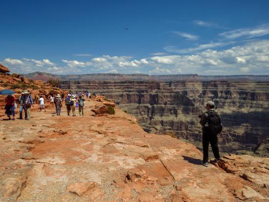 Pink Jeep Tours Las Vegas : West rim Grand Canyon