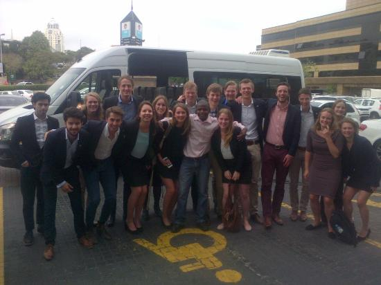 Sandton Taxi Cabs (Pty) Ltd (Johannesburg Shuttle Services), South Africa : Group Tour in Johannesburg 2015