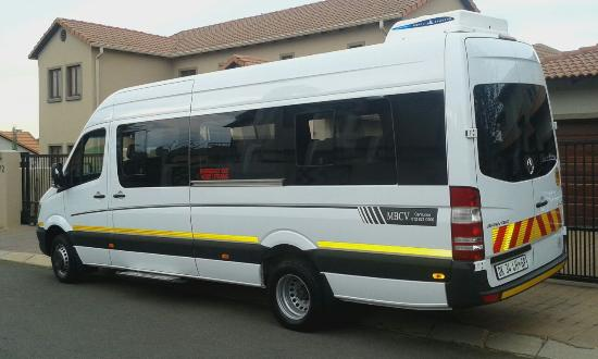 Sandton Taxi Cabs (Pty) Ltd (Johannesburg Shuttle Services), South Africa : 22 Seater Shuttle Bus in Johannesburg