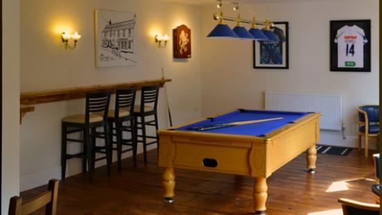 Kennford, UK: Pool Room