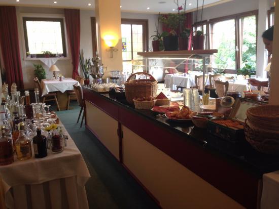Hotel Waldeck: breakfast