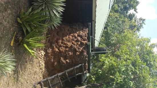 Nile Safari Lodge: Outdoor shower