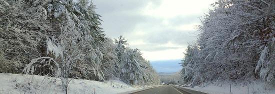 Campton, NH: Winter