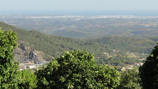 Estalagem Abrigo da Montanha: Pohled z balkónu pokoje