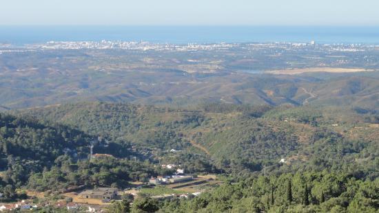 Estalagem Abrigo da Montanha: Pohled z balkónu pokoje 2