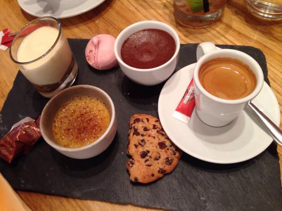 Cafe gourmand !