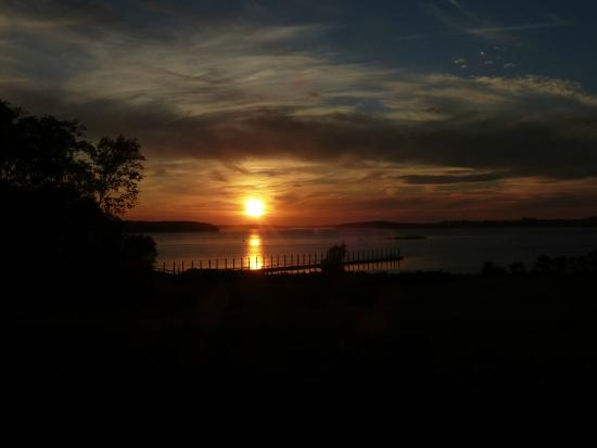 Campobello Island: Sunset from Prince Cottage