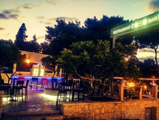 Restaurant - Pizzeria Roso: Sunset @RosoBar&Restaurant