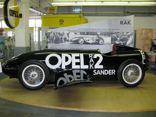 Ruesselsheim, Germany: Raketen Opel