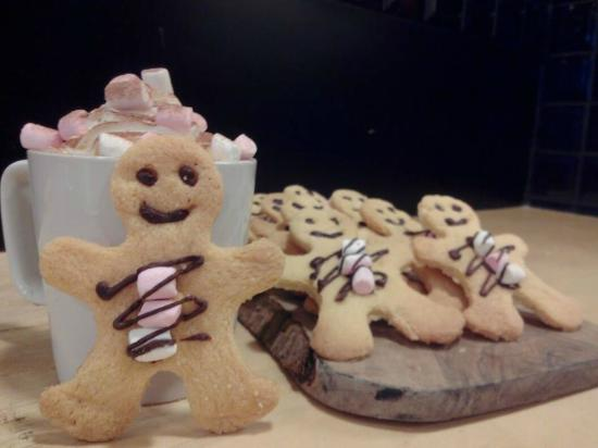 Cafe Guild: Homemade Gingerbread Man