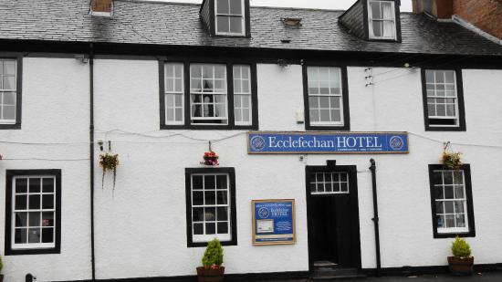 Facade of the Ecclefechan hotel