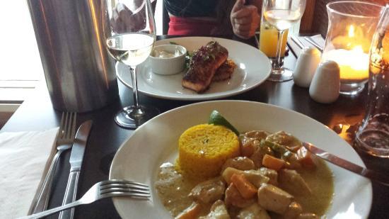 Jalons Restaurant: Green Thai curry