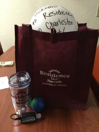 Residence Inn by Marriott - Charleston Airport: Welcome Gift in our room