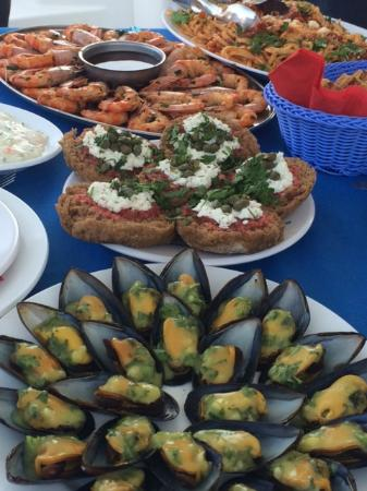 Fira, Greece: Natalia can cook!!